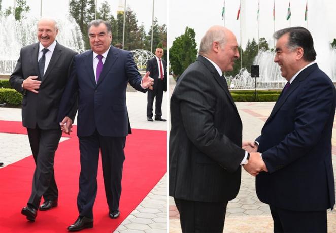 Отчего Лукашенко выглядел таким нерадостным рядом с Рахмоном