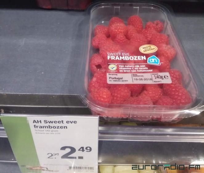 В Минске голландскую малину продают по $130. В Амстердаме она стоит $21!
