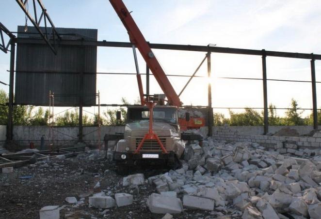 В Гродно на руководителя частной фирмы рухнула стена на стройке