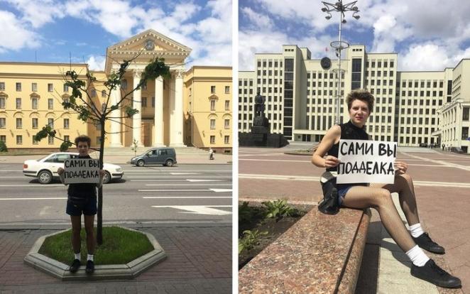 В Беларуси одиночный пикет приравняли к массовому мероприятию