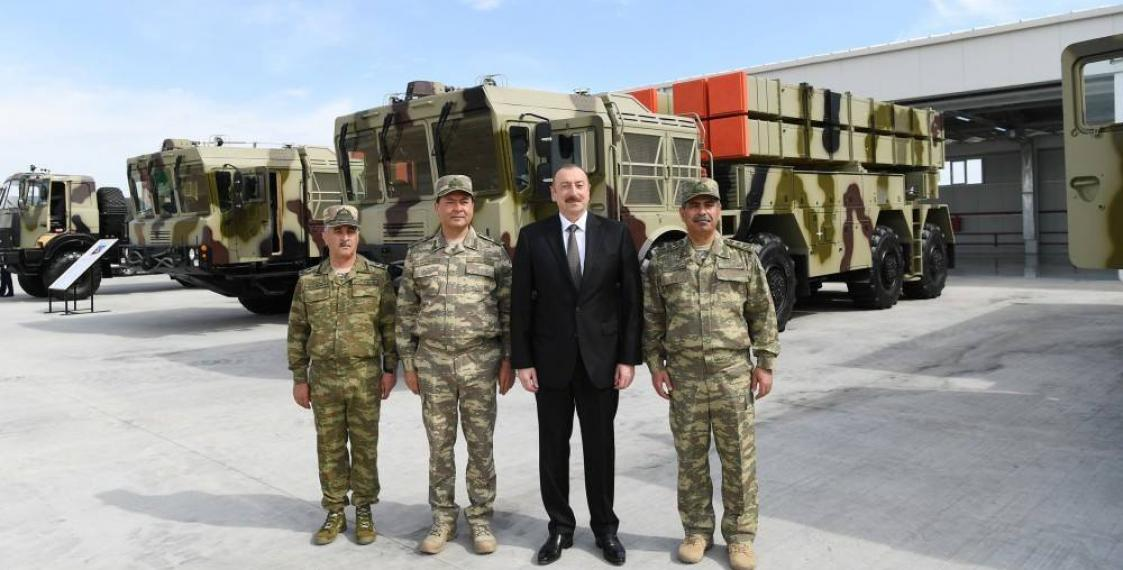 Azerbaijan gets Belarus-made multiple rocket launch system Polonez