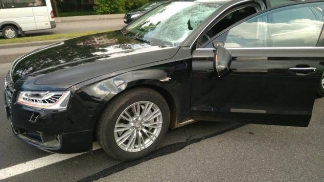 На проспекте Независимости Audi насмерть сбила пешехода