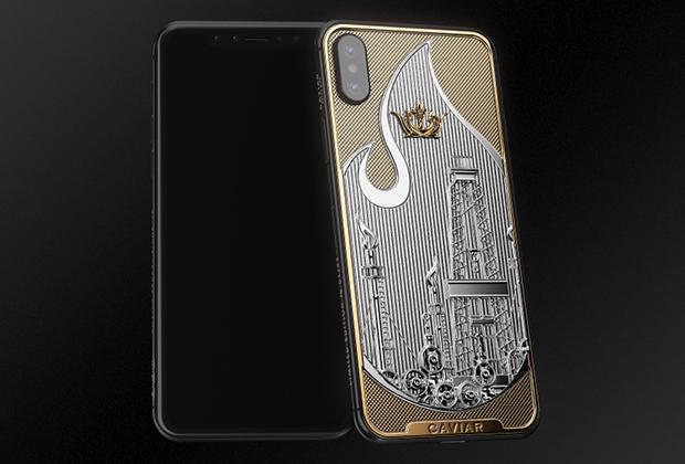 В России выпустили антисанкционный смартфон с золотым вентилем