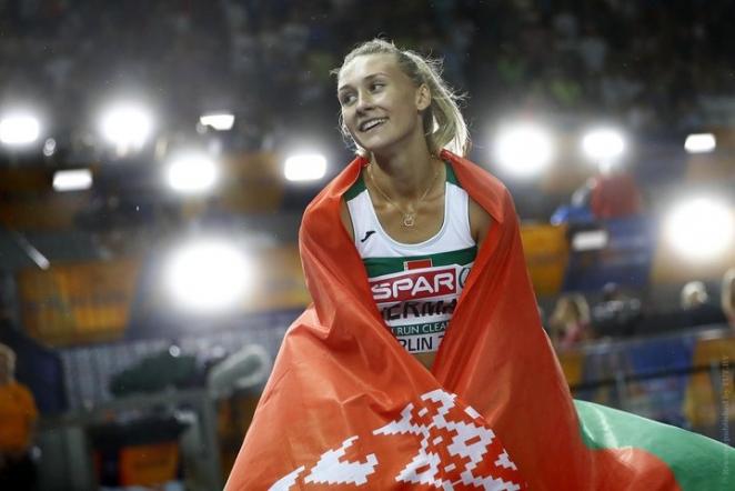 Герман принесла Беларуси первое золото на ЧЕ по легкой атлетике, Талай не финишировала