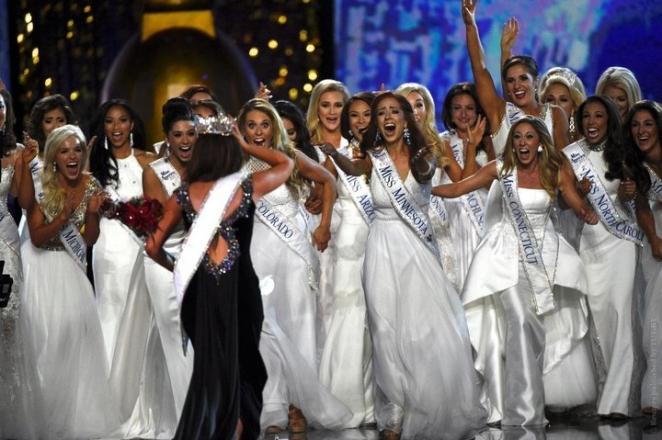 """Скандал на конкурсе """"Мисс Америка"""""""