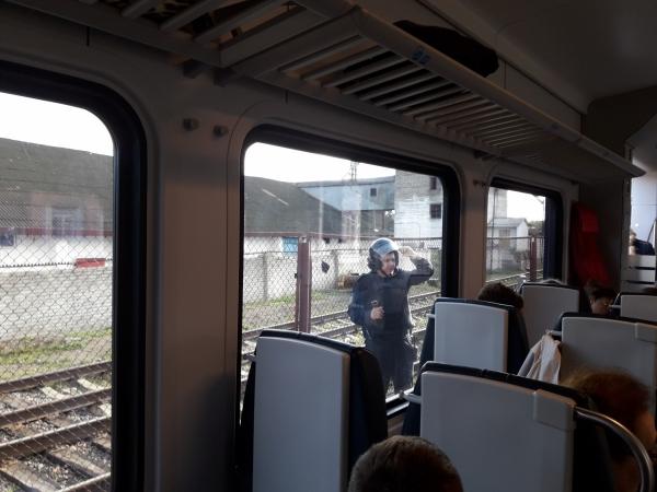 """В поезде, на котором журналистка """"Белсат"""" ехала в Вильнюс, нашли взрывчатку"""