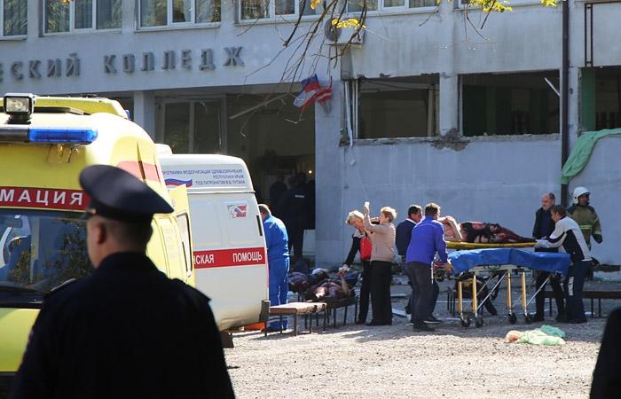 Картинки по запросу фото  Восстановлена картина бойни в керченском колледже