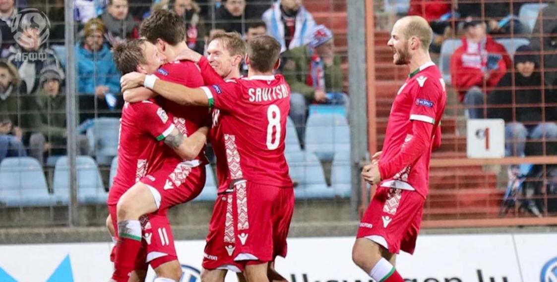 Футбольная сборная Беларуссии обыграла Люксембург истала лидером группы