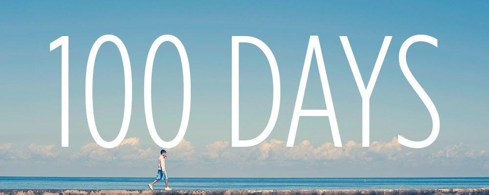Волками, открытки 100 дней до лета