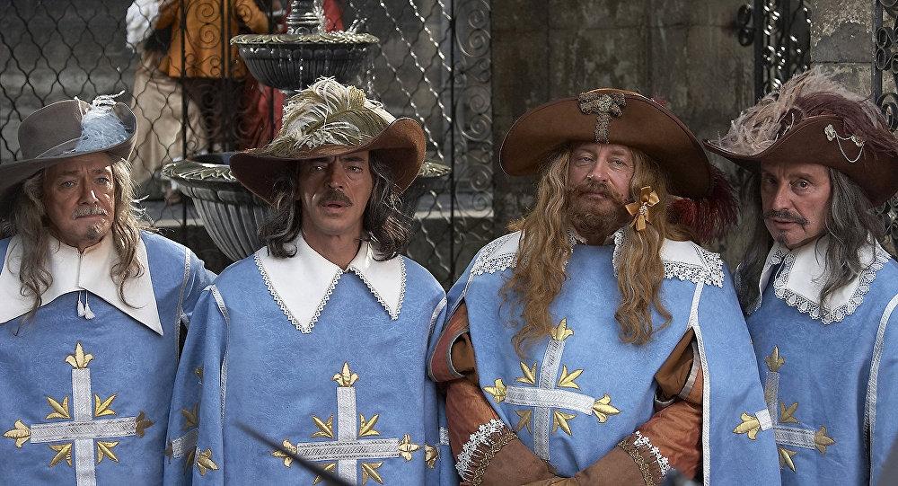 Три мушкетера веселые картинки