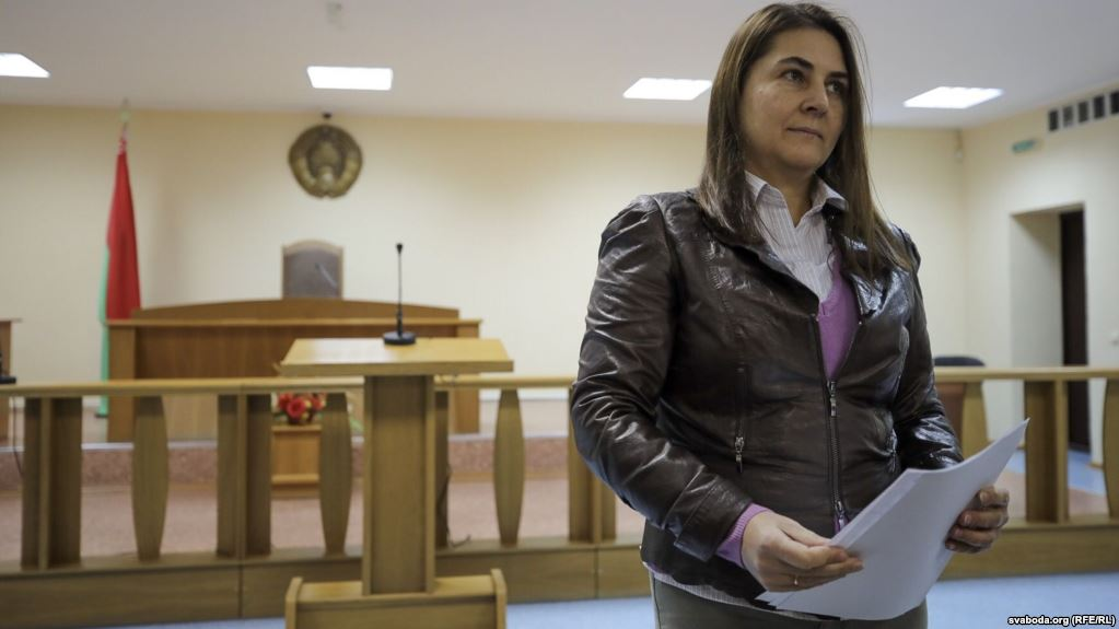 Belarus Court Cancels Opposition Spokeswoman's Expulsion