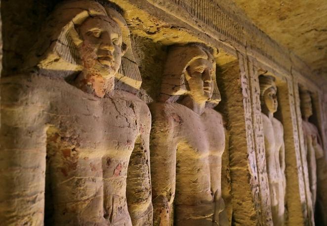 В Египте нашли почти нетронутую гробницу сер. III тысячелетия до н.э.