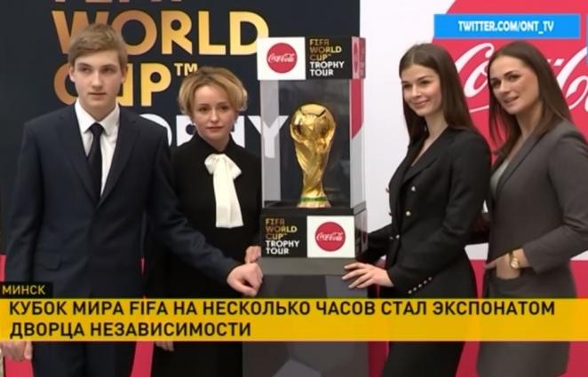 Кадры с помощницей Лукашенко, которая впечатлила российское руководство