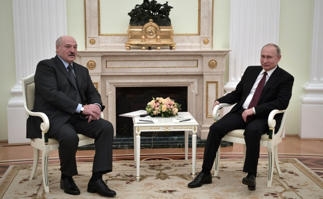Встреча Путина с Лукашенко завершилась. О результатах неизвестно