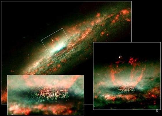 """Космический телескоп """"Хаббл"""" обнаружил Обитель Бога"""
