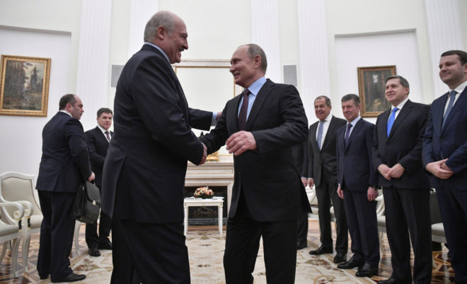 Lukashenka defeats Putin in survey on who could lead Union State