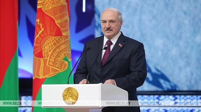 Лукашенко впервые за долгое время выступил на официальном мероприятии по-белорусски