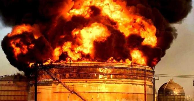ВВенесуэле взорвались два резервуара сразбавителями для нефти