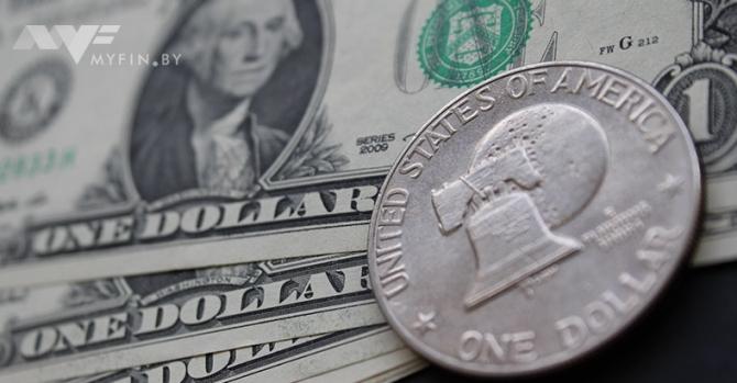 Доллар иевро вновь упали вцене наторгах 15апреля