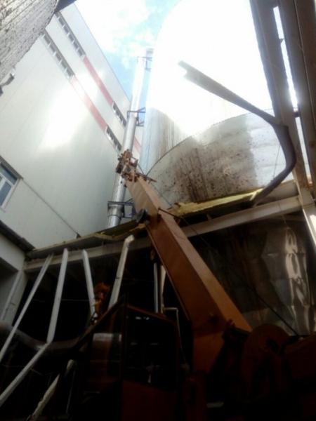 """""""Безупречное"""" китайское качество: в Светлогорске рухнула крыша целлюлозного комбината"""