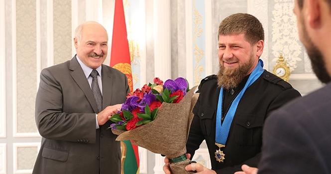 Кадыров пошутил о Лукашенко и его старшем сыне