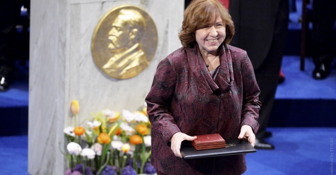 Nobel Laureate Svetlana Alexievich Among The World's Top 50 Thinkers 2019