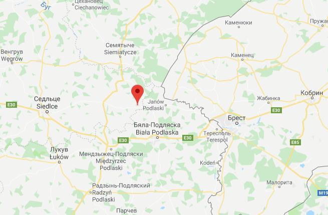 Спрятанный самолет нашли на беларуско-польской границе посреди поля