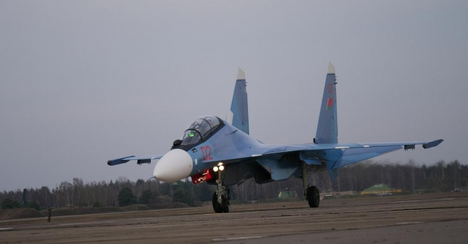 French equipment on SU-30SM fighters bought by Belarus