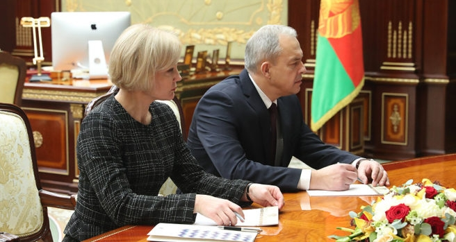 KGB Major General heads presidential administration in Belarus