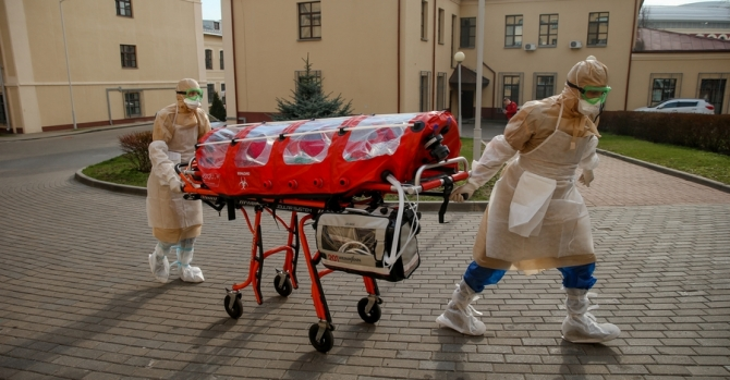 COVID-19 In Belarus: 7,281 Infected, +558 Cases In The Past 24 Hours