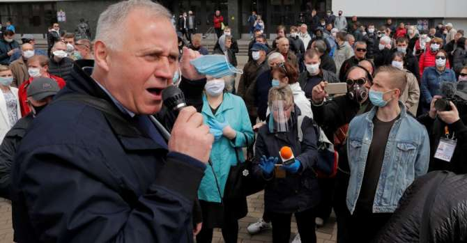 Belarus Jails Several Opposition Figures In Widening Clampdown Ahead Of Election