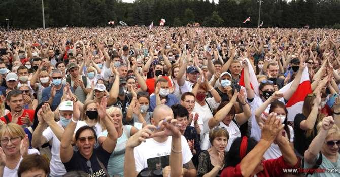 В Минске 30 июля пройдет «большой митинг» Тихановской