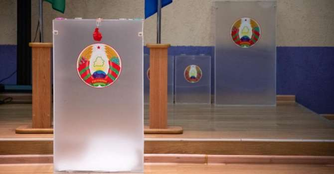 Who can conduct exit polls at Belarus elections?