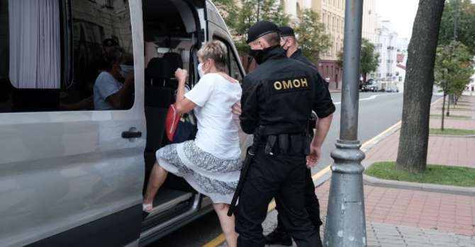 Journalists Detained Near KGB Building In Minsk Amid Crackdown On Press