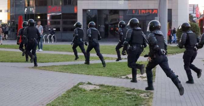 Two Teenagers Hospitalised After Post-Election Police Beatings In Belarus