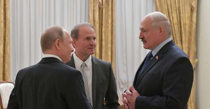Ukrainian businessman Medvedchuk and his Belarusian connections